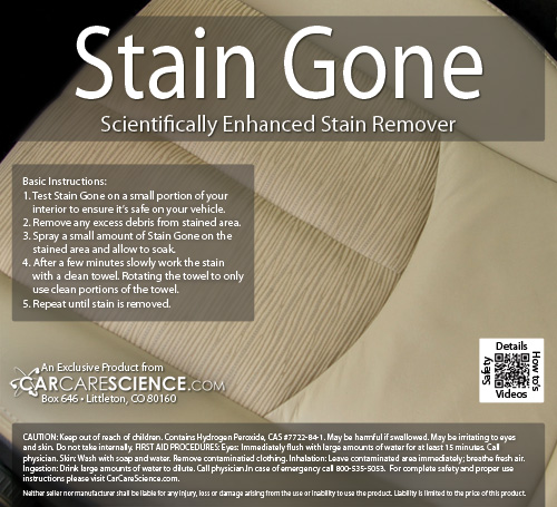 fabric stain remover