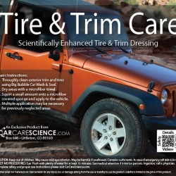 tire and trim dressing