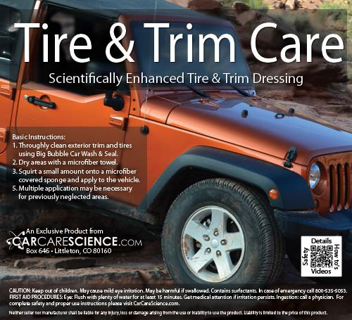 tire and trim dressing